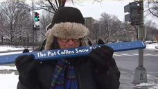 Pat Collins Prepares for Snow Stick Challenge