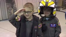 Boys Battling Leukemia Become Pilots for a Day