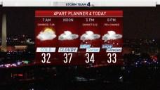 Your Thursday Forecast: Rain, Snow on the Way