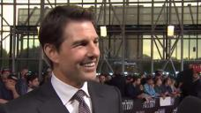 Tom Cruise Comes to DC for Mission Impossible Premiere
