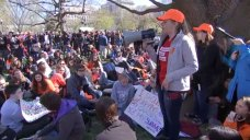 DC-Area Students Hold Anti-Gun Violence Walkouts