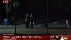 Man Injured in NW DC Shooting; 2 Masked Men Sought