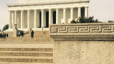 WWII Memorial, Lincoln Memorial, Wash. Monument Vandalized