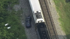 MARC Service Suspended After Train Strikes Car; 1 Injured
