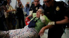 Disabled Health Care Protesters Dragged From Senate Hallway