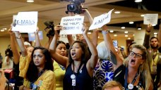 DNC Convention: Sanders Says Vote for Clinton, Crowd Boos