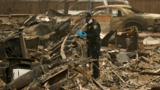 Rain Could Hinder Search for Victims of Northern Calif. Fire