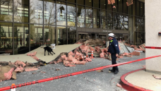 Ceiling Partially Collapses at Walter Reed Emergency Center