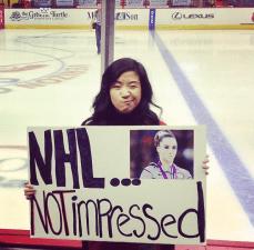 AHL Showcase Bitter Reminder for Caps Fans