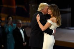 Melania Trump's Inaugural Gown to Join Smithsonian