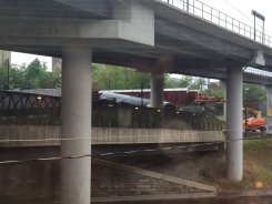 CSX Train Derailment in D.C.