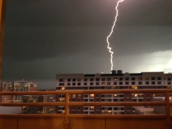 Images From Monday's Thunderstorms