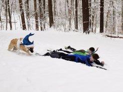 Entries for the Sunday Snowsuit Snow Stick Challenge