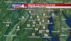 Storm Team4: Blizzard Blankets DC; Whiteout Expected
