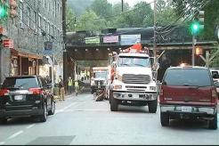 CSX Train Derails in Ellicot City