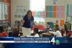 Veronica Johnson Visits Imagine Andrews Public Charter School
