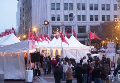 Downtown Holiday Market Reopens