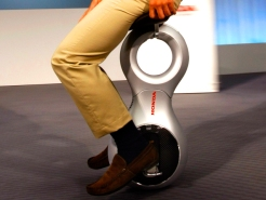 Yee Haw! Segway Meets Unicycle in