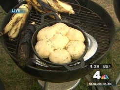 Bake Your Biscuits on the Grill