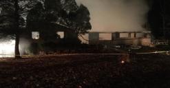 Resident Found Safe After Fire Destroys Clarksburg Home
