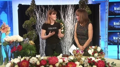 Adding Holiday Cheer to Floral Arrangements
