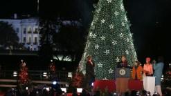 Obamas Light National Christmas Tree