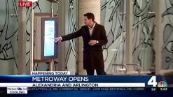 Metroway Between Arlington, Alexandria Opens
