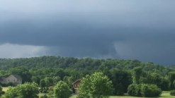 RAW: Storm Approcahing Martinsburg
