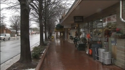Snow Quickly Melts in Falls Church