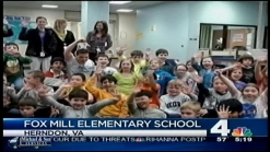 Doug Visits Fox Mill Elementary School