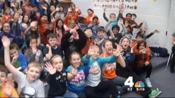 Doug Visits Oak Hill Elementary School