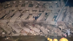 5 Dead, Many Trapped After Strong Quake Rocks Taiwan