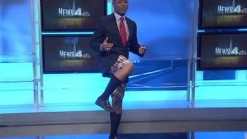 Behind TV Anchor Desk: Shorts