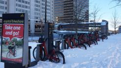 Bikeshare Shut Down; Zoo to Reopen Wed.