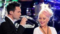 Adam Levine Stands Up for Christina Aguilera Over Weight Criticism