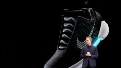 Nike Unveils First Self-Lacing Sneaker