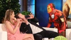 'Ellen': Iron Man Scares Chris Evans