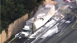 Tractor-Trailer Fire Sparks Major I-95 South Delays in MD