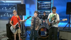 Young Rockers Perform on News4