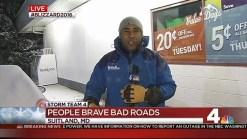 Some Still Braving Bad Roads