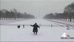 Snow Stick Challenge: Snow Patriotism