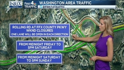 Partial Closures on I-395 Over the Weekend