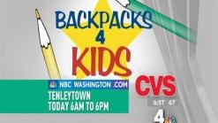 Backpacks 4 Kids on Location