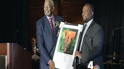 Vance Honored With