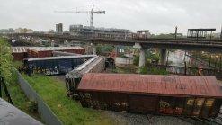 CSX: Train Derails in DC, Leaks Chemicals