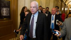 GOP Health Bill All But Dead; McCain Again Deals the Blow <br />