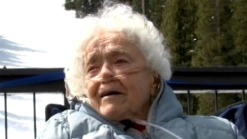 Skier Celebrates 100th Birthday on Slopes