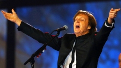 Paul McCartney Kicks Off