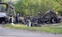 """No Conclusive Evidence"" Why FedEx Driver Crashed Into Tour Bus: Officials"