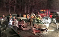 More Than 20 Vehicles Involved in Crash Along I-270